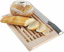 Creative Home Brot-Schneidebrett mit Krümelfang