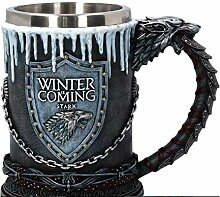 Creative Ice and Fire Song Right Game Tasse Harz