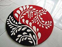 Creative Light- Kind-Karikatur-rutschfeste Teppiche-verdickte Acrylmatten-Schlafzimmer-Nachttuch-runde Teppiche Computer-Stuhl-Teppich ( Farbe : #3 , größe : 1.2m )