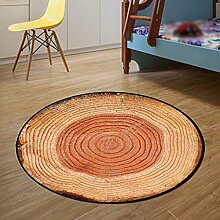 Creative Light- Kreative runde Teppiche Schlafzimmer Wohnzimmer Couchtisch Matte Home Computer Stuhl Korb Mats Bedside Teppich ( größe : Diameter 160cm )