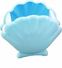 Creative Light- Mode kreative niedlichen Schale Durable Anti-wrestling Kind Bürobedarf Schreibgeräteetui (116,5 * 65,5 * 103mm) ( farbe : Blau )