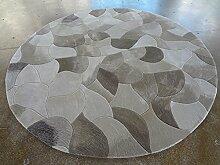 Creative Light- Moderne Einfache Runde Geometrie Teppiche Wohnzimmer Restaurant Studie Computer Stuhl Matten ( größe : 1.1m )