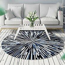 Creative Light- Nordic Round Teppiche Schlafzimmer Wohnzimmer Bedside Carpets Study Computer Stuhl Pad ( größe : 160cm*160cm )