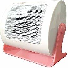 Creative Light- Tragbare Kleines Haushalt Energiespar Badezimmer Desktop-PTC-Keramik Heizung Elektroheizung (160 * 75 * 135mm) ( farbe : Weiß )