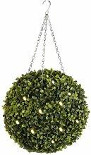 Creative Living Künstliche Buchsbaumkugel mit