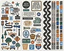 Creative Memories Auto-Aufkleber, 3 Bögen für