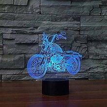 Creative Nachtlicht Kreative Motorrad Touch