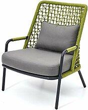 Creative-Rattan-Sofa-Stuhl im Freien Schlafsofa