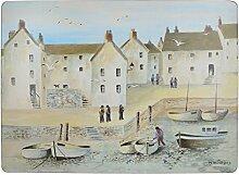 Creative Tops Cornish Harbour Tischsets mit