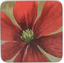 Creative Tops Flower Study Premium-Untersetzer mit