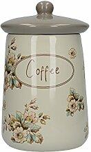 Creative Tops Katie Alice Cottage Kaffee-Vorratsdose aus Keramik, Blumenmuster