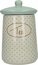 Creative Tops Katie Alice Cottage Tee-Vorratsdose aus Keramik, Blumenmuster