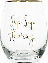 Creative Tops SIP HOORAY Weinglas Weingläser ohne