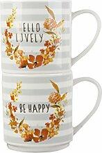 Creative Tops Stapeln, Be Happy und Hello Ihnen