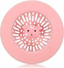 Creative Tragbare Bodenablauf Haar Filter Badezimmer Waschbecken Sieb Küche Reinigung Werkzeuge