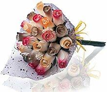 Creative Wooden Roses Holzrosen, Blumenstrauß