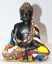 Creativegifts Buddha-Statue für Armaturenbrett,