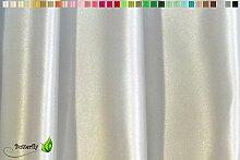 Creativery 9,5m Satinstoff 150cm (hell Silber/grau