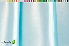 Creativery 9,5m Satinstoff 150cm (hellblau 311) //