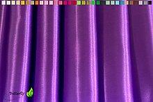 Creativery 9,5m Satinstoff 150cm (lila/Purpur 465)