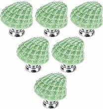 Creatwls Grün Porzellan Möbelknöpfe Griffe