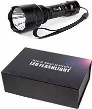CREE 1LED Kit 1300lm Taschenlampe Trustfire