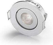 Cree, kleine LED-Deckenleuchte/Einbauleuchte, 3 W,