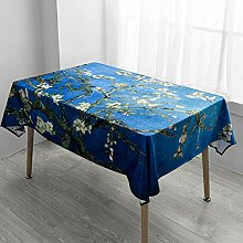 Creek Ywh Beibei Stil Van Gogh Starry Tischdecke