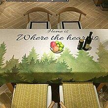 Creek Ywh Tischdecken Tischläufer