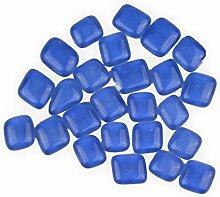 Creleo 791626 Mosaik Soft Glassteine 8-25 mm hellblau 250 g