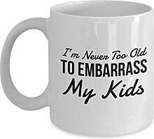 Cremetasse Lustige Oma Opa Tasse Geschenkidee für