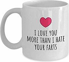 Cremetasse Lustige Valentinstag-Tasse