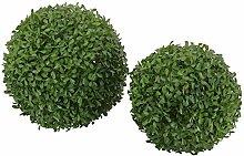 CREOFANT Buchsbaumkugel Buchsbaum Kugel grün