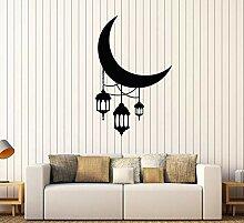 Crescent Moon Laterne Beleuchtung Arabisch