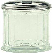Crestware Zuckerstreuer mit Klappdeckel, 340 ml,