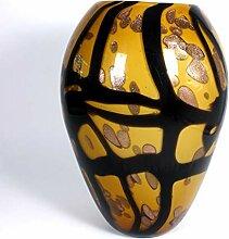 CRISTALICA Blumenvase Dekoration Glas Vase Mariana