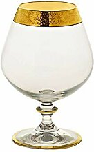 CRISTALICA Cognacglas Schwenker Kelch Brandy