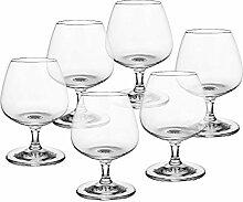 CRISTALICA Cognacschwenker 6er-Set Cognacglas