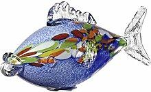 Cristalica Fisch Glasfisch Karpfen Gartenteich