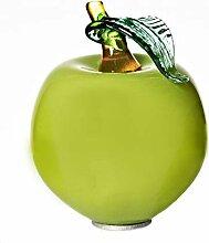 Cristalica Gartenkugel Apfel klein Rosenkugel Glas