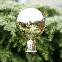 CRISTALICA Gartenkugel Rosenkugel Dekokugel Mirror