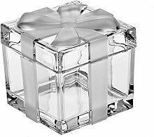CRISTALICA Geschenkdose Schmuckdose Etui Glas