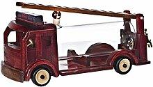 CRISTALICA Geschenkflasche Feuerwehrauto Feuerwehr