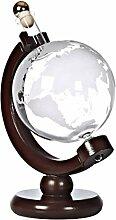 cristalica Geschenkflasche Globus Weltkugel