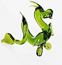 CRISTALICA Glas Figur Glastier für Vitrine Drache