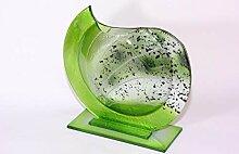 CRISTALICA Glasvase Dekoelement Fusing Glas