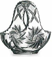 CRISTALICA Körbchen Korb aus Glas Lina