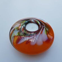 CRISTALICA Teelichthalter Kerzenständer Glas UFO