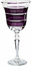 CRISTALICA Weinglas Weinkelch Handgeschliffen