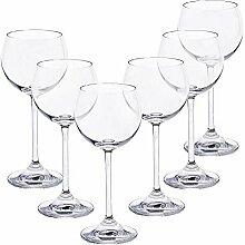 CRISTALICA Weißweinglas 6er-Set Condor 180ml